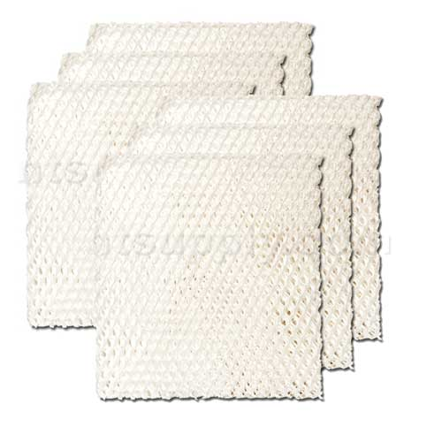 Replacement Filter Wick for Duracraft and Kenmore Portable Humidifiers - Model AC-818, 6-Pack