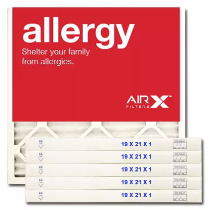19x21x1 AIRx ALLERGY Air Filter - MERV 11