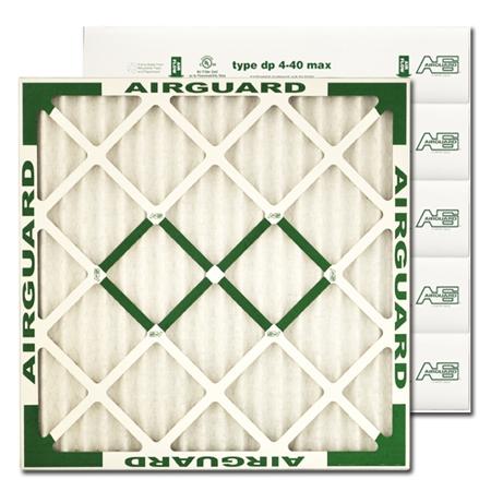 "Air Guard 20"" X 20"" X 4"" DP-40 Max Pleated Filter"
