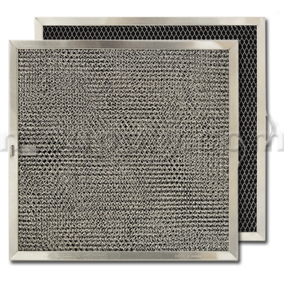 "Broan Model BPQTF Non-Ducted Range Hood Filter - 11-1/4"" X 11-3/4"" X 3/8"""