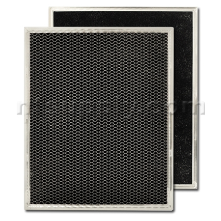 "Broan Model BPSF30 Non-Ducted Range Hood Filter - 10-3/4"" X 13-1/4"" X 3/32"""