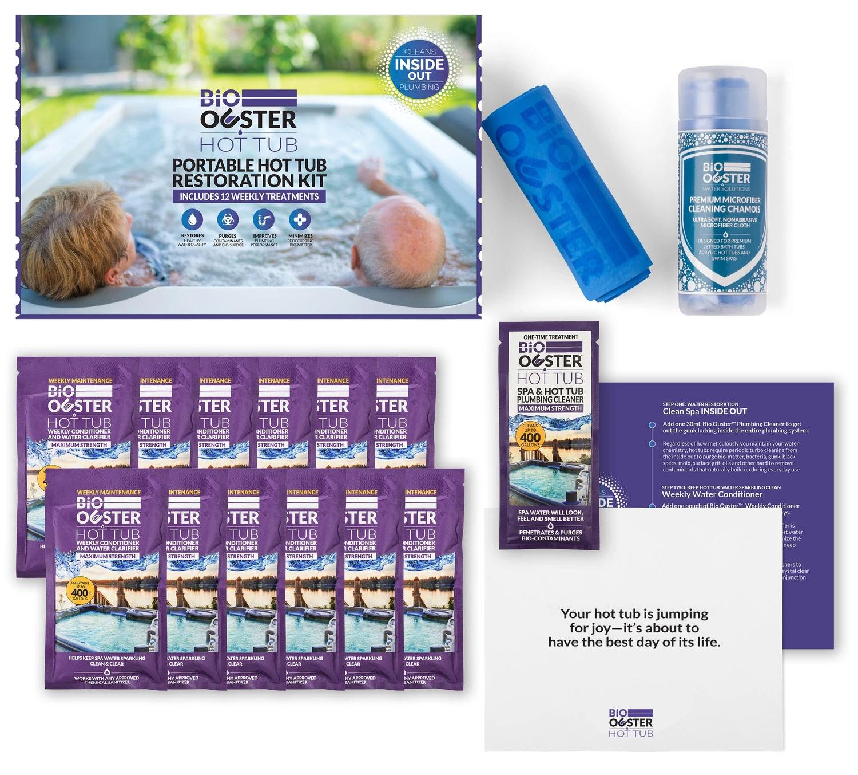 Complete Hot Tub Restoration Kit (Lasts 3 Months)