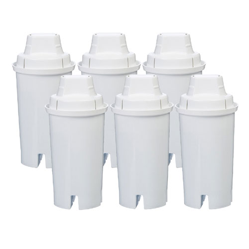 Replacement for Brita Pitcher Filters - 6 Pack