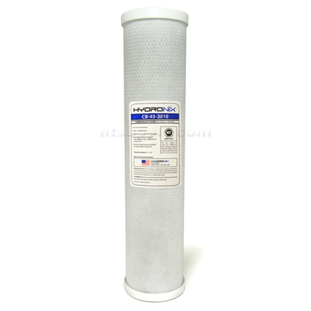 "Hydronix 20"" BIG BLUE Carbon Block Filter - 10 micron"