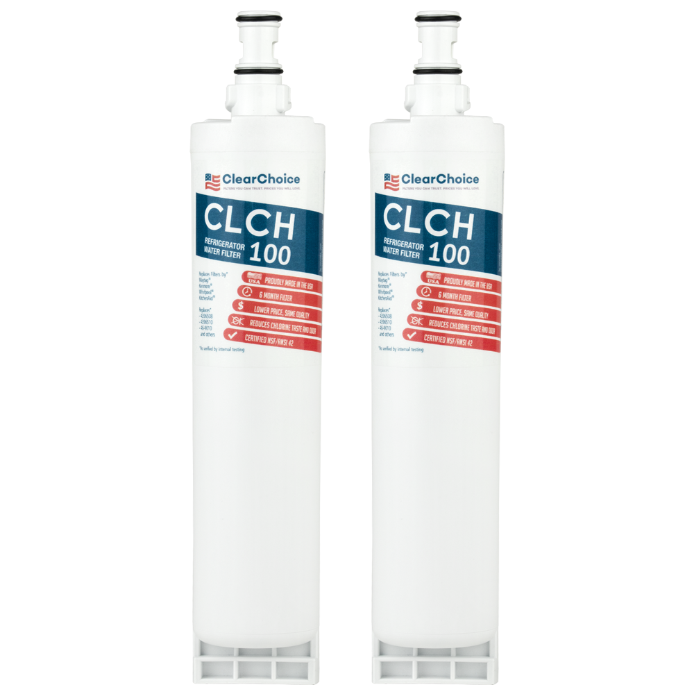 ClearChoice Replacement for Whirlpool 4396508 Filter, 3-Pack