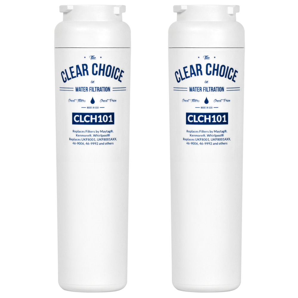 ClearChoice Replacement for UKF8001 Filter, 2-Pack