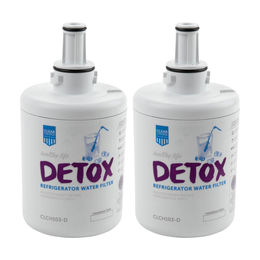 Detox ClearChoice Replacement for Samsung DA29-00003G Filter -  Lead Reduction, 3-Pack