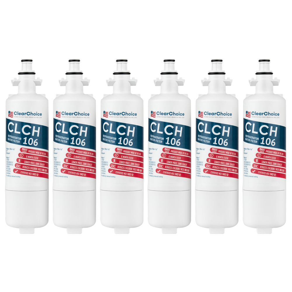 ClearChoice Replacement for LG LT700P Refrigerator Filter, 3-Pack
