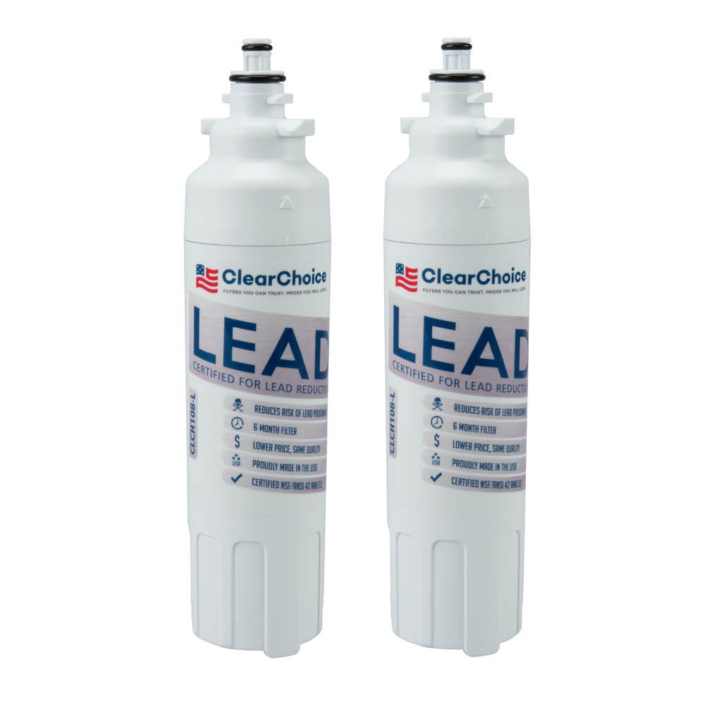 ClearChoice Replacement for LG LT800P Filter -  Lead Reduction, 2-Pack