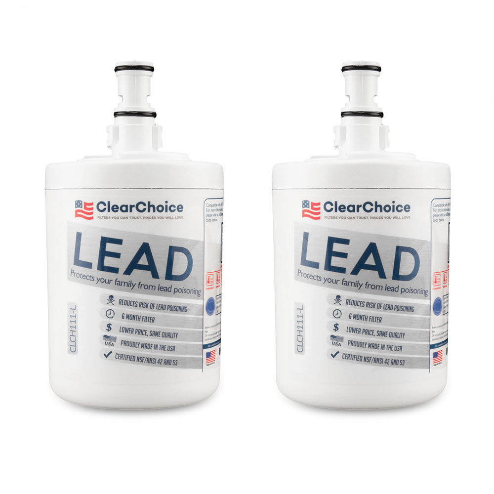 ClearChoice Replacement for Whirlpool 8171413 Filter -  Lead Reduction, 3-Pack