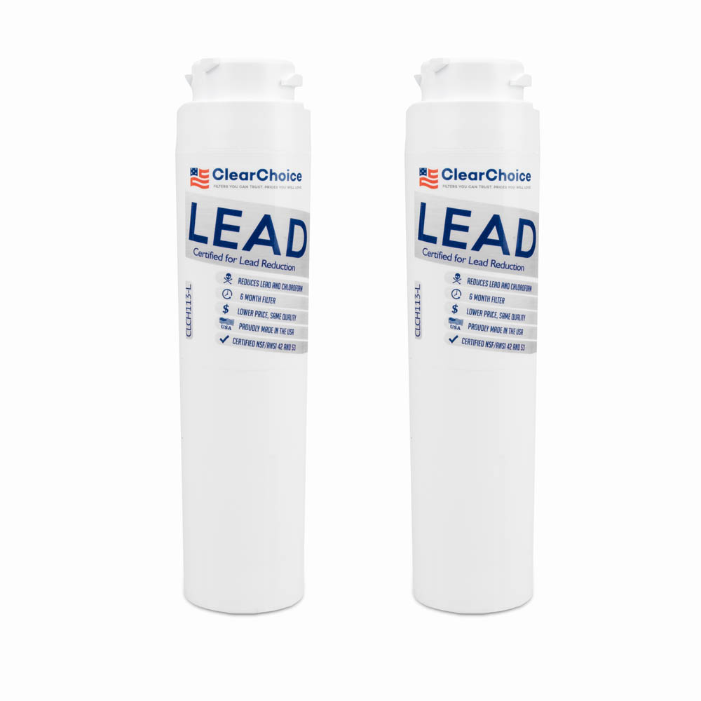 ClearChoice Replacement for GE MSWF Refrigerator Filter, Lead Reduction, 2-Pack