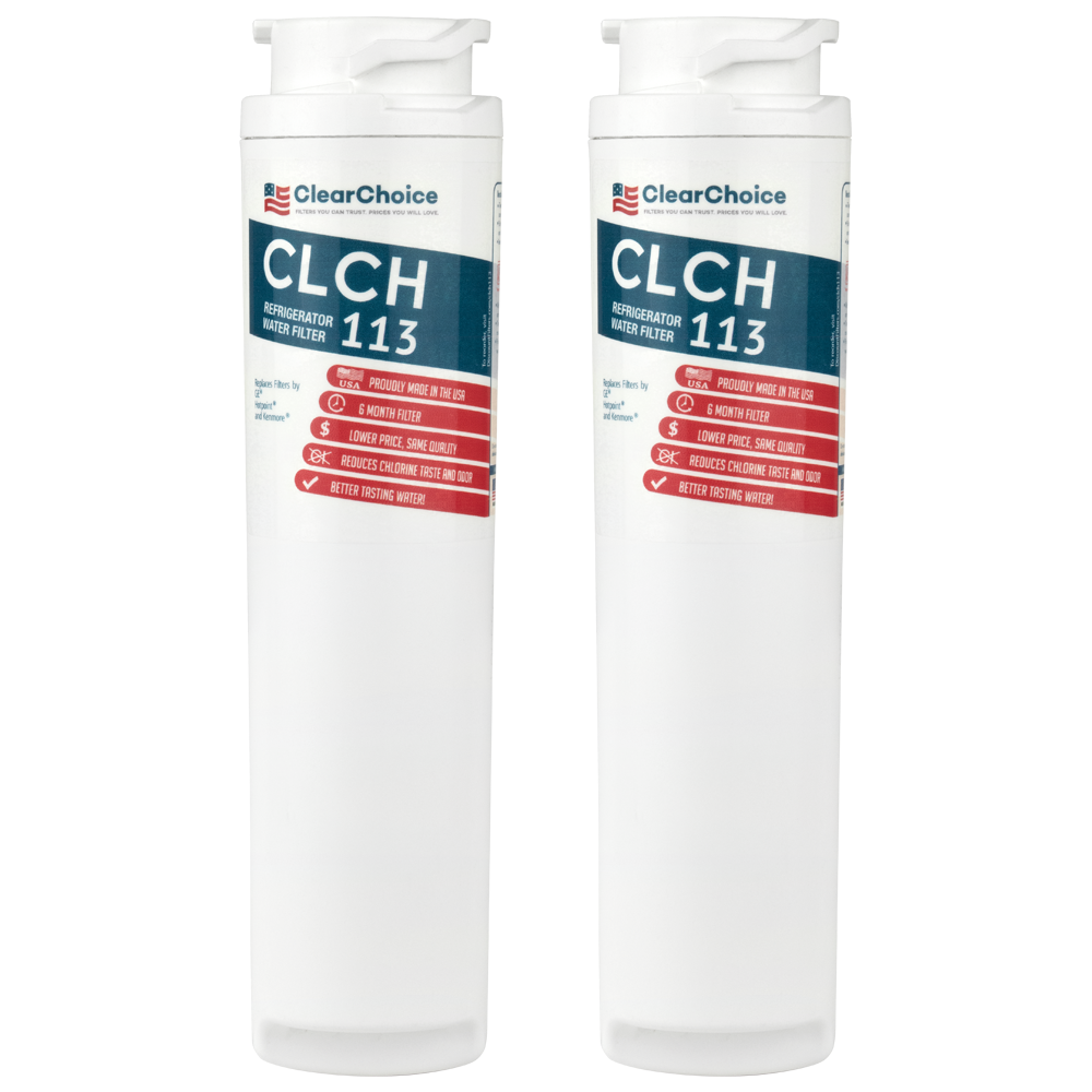 ClearChoice Replacement for GE MSWF Refrigerator Filter, 3-Pack