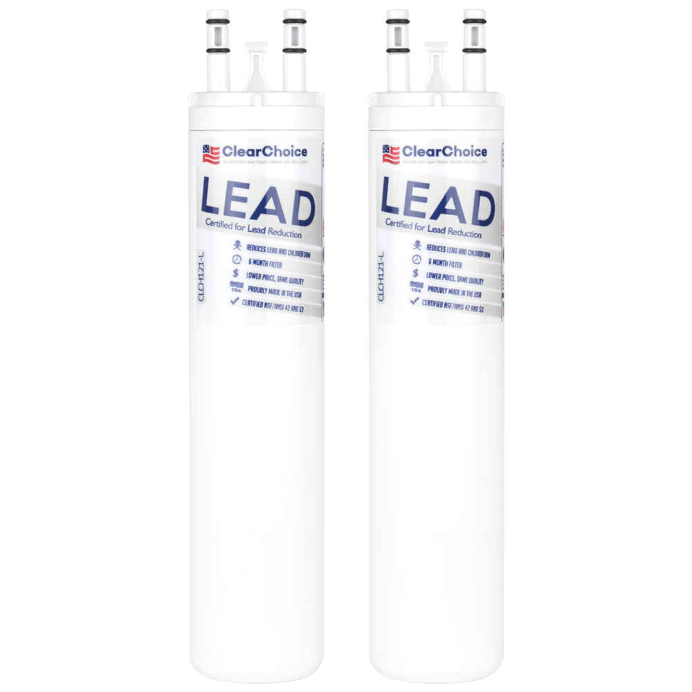 ClearChoice Replacement for ULTRAWF Refrigerator Water Filter, Lead Reduction, 3-Pack