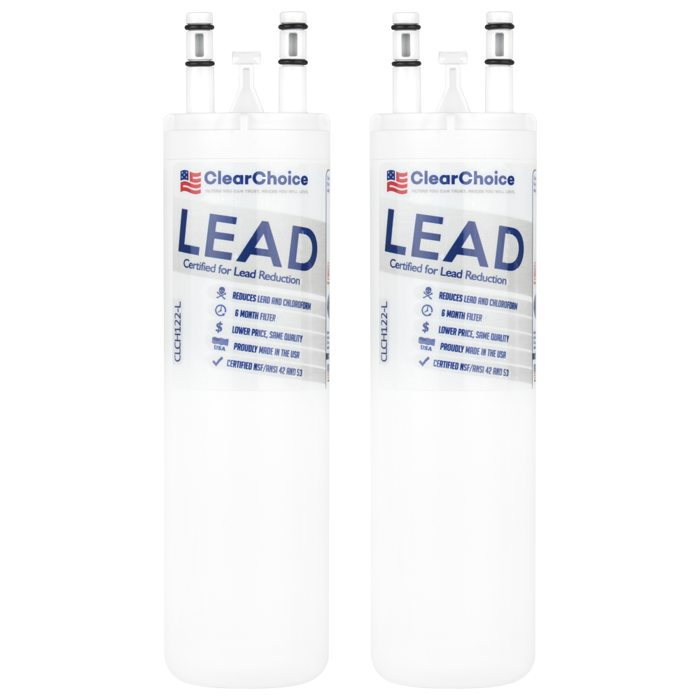 ClearChoice Replacement for WF3CB Refrigerator Water Filter, Lead  Reduction, 2-Pack