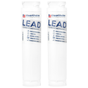 ClearChoice Replacement for Bosch 644845 Refrigerator Filter, Lead Reduction, 2-Pack