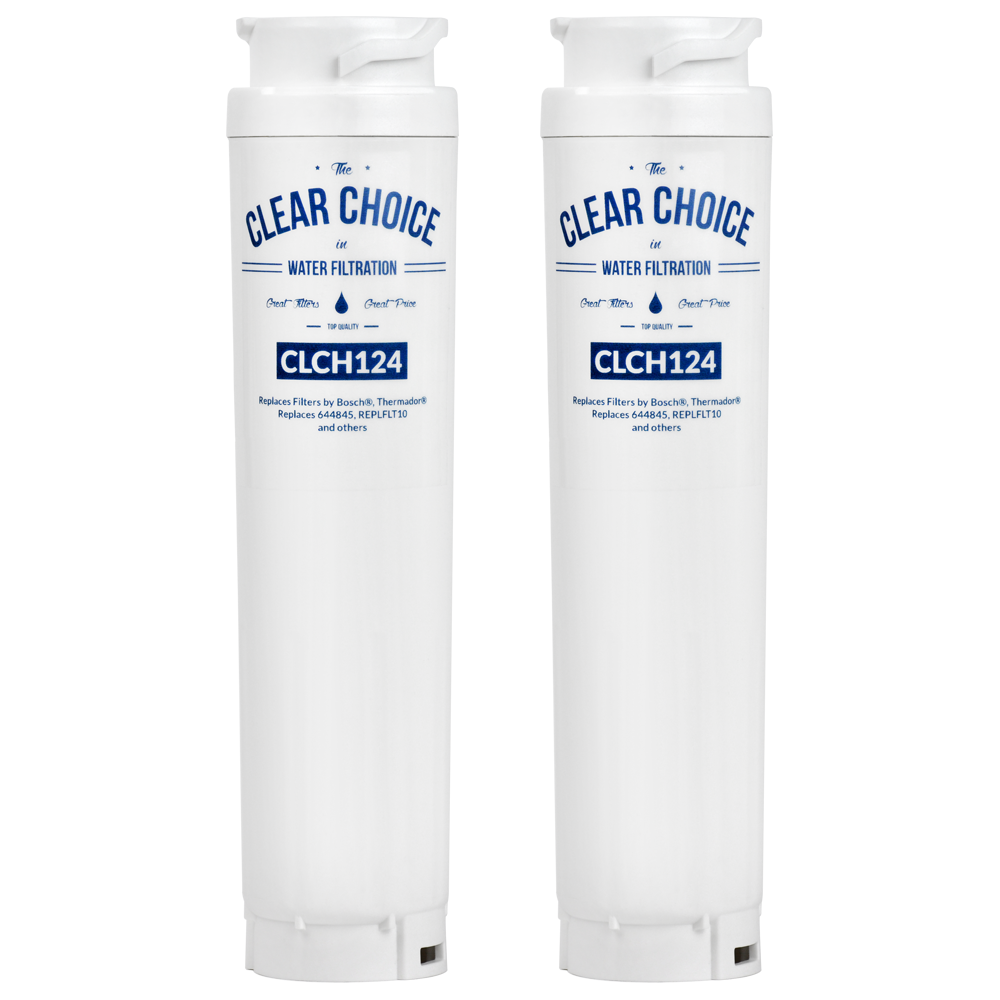 ClearChoice Replacement for Bosch 644845 Refrigerator Filter, 2-Pack