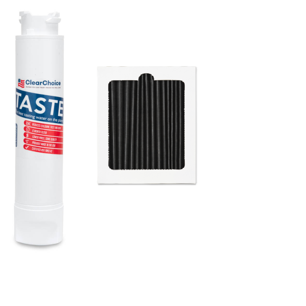 ClearChoice Combo Replacement for EPTWFU01 Water Filter and PAULTRA Air Filter