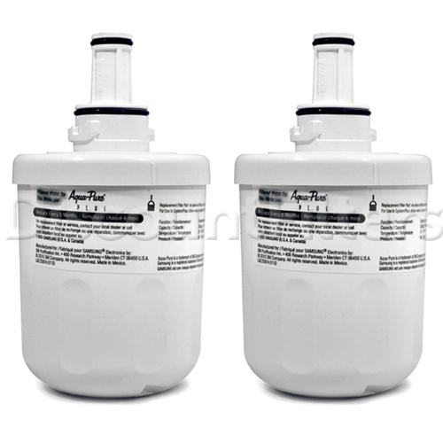 Samsung Aqua-Pure Plus Refrigerator Water Filter (DA29-00003G), 2-Pack