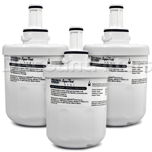 Samsung DA29-00003G Aqua Pure Plus Refrigerator Water Filter, 3-Pack