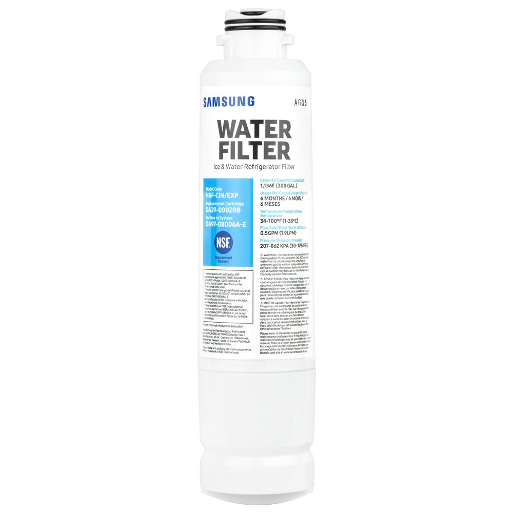 Samsung DA29-00020B Aqua Pure Plus Refrigerator Water Filter - 3 Pack