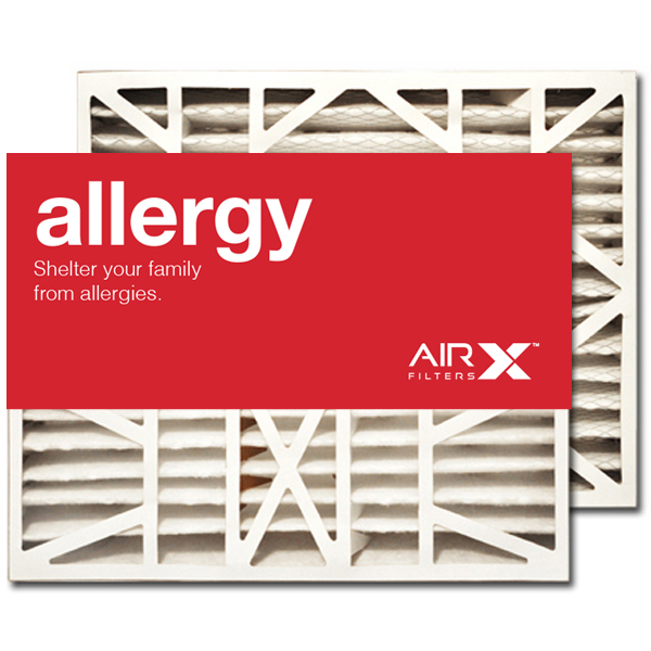16x21x5 AIRx ALLERGY White Rodgers FR1000-100 Replacement Air Filter - MERV 11