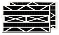 Carbon Expanded Filter for Aprilaire/Space-Gard 2400 Air Cleaner, 2-Pack