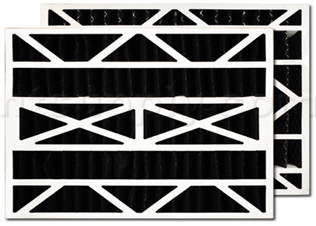 Carbon Expanded Filter for Aprilaire/Space-Gard 2200 Air Cleaner, 2-Pack