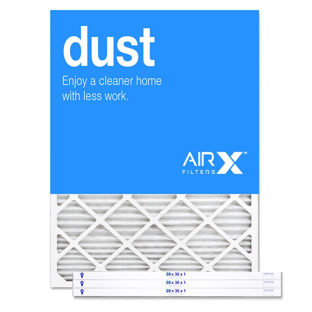 30x36x1 AIRx DUST Air Filter - MERV 8