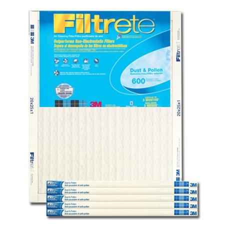 15 x 20 x 1 Filtrete Dust & Pollen Reduction Filter  - #9836