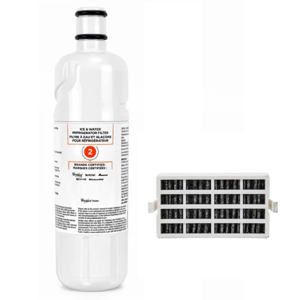 Whirlpool EDR2RXD1 Refrigerator Water Filter & FreshFlow Air Filter