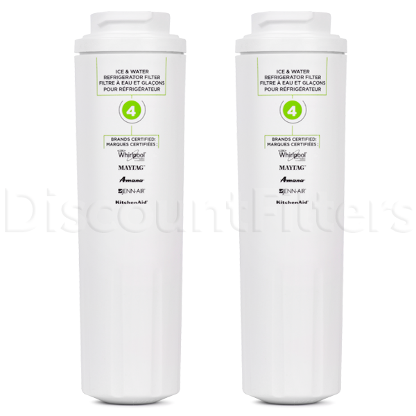 Whirlpool EDR4RXD1 Refrigerator Water Filter (Filter4), 2-Pack