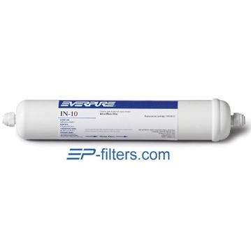 Everpure IN-10 Inline Water Filter - Without Fittings