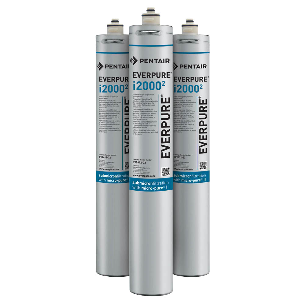 Everpure i2000-2 Water Filtration Cartridge, 3-Pack