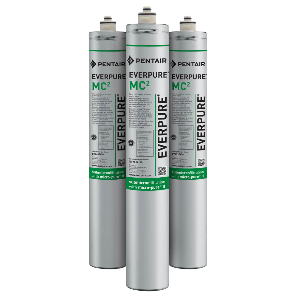 Everpure MC2 Water Filtration Cartridge, 3-Pack