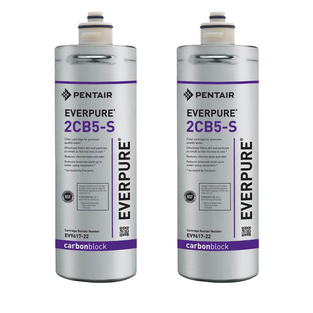 Everpure 2CB5-S Carbon Block Water Filtration Cartridge