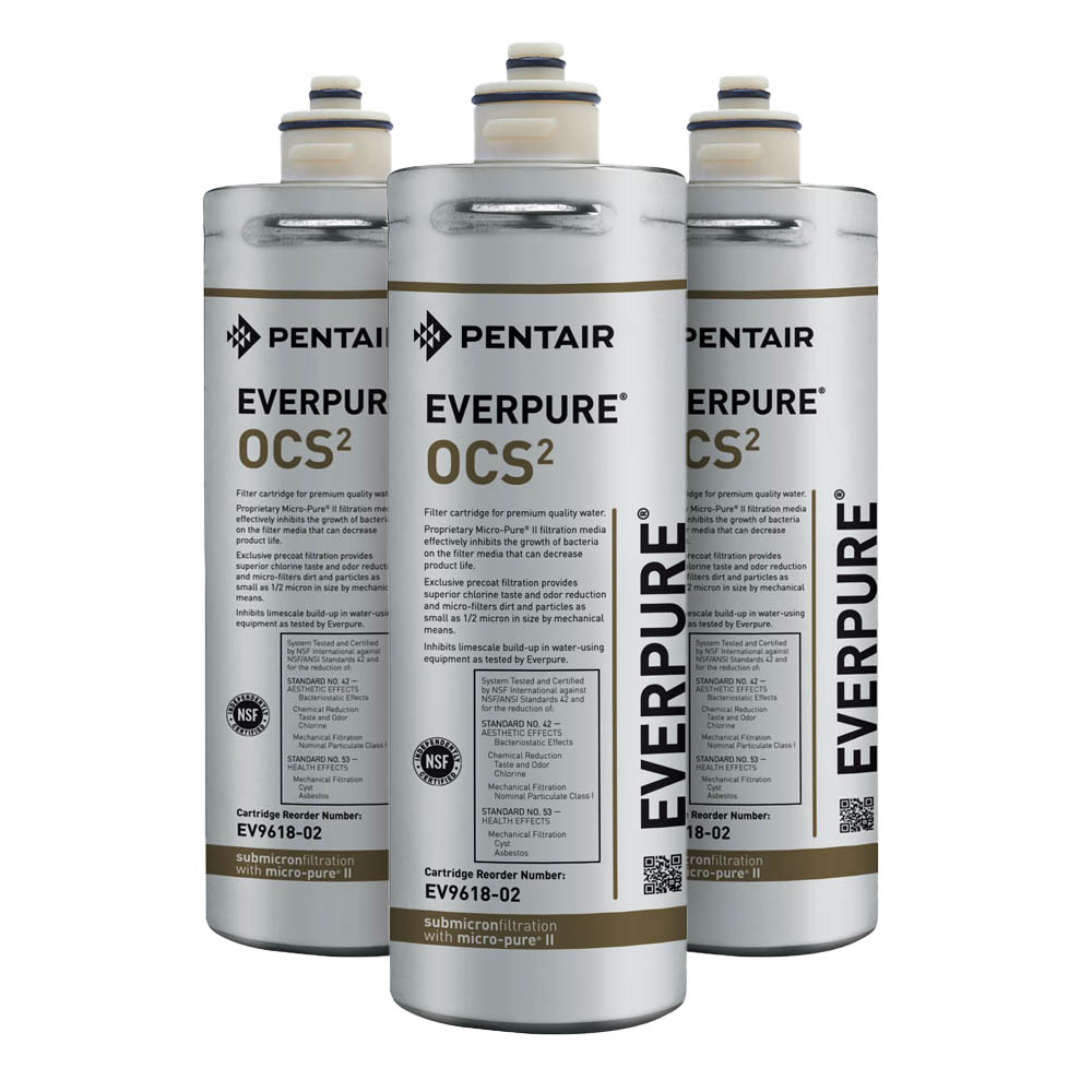 Everpure OCS2 Water Filtration Cartridge - 3-pack