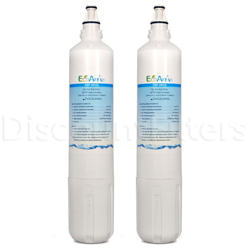 EcoAqua Replacement for Sub-Zero 4204490 Refrigerator Filter, 2-Pack