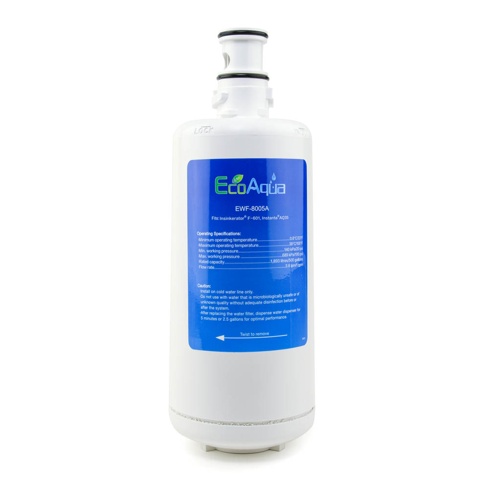 EcoAqua Replacement for Insinkerator® F-601R Filter