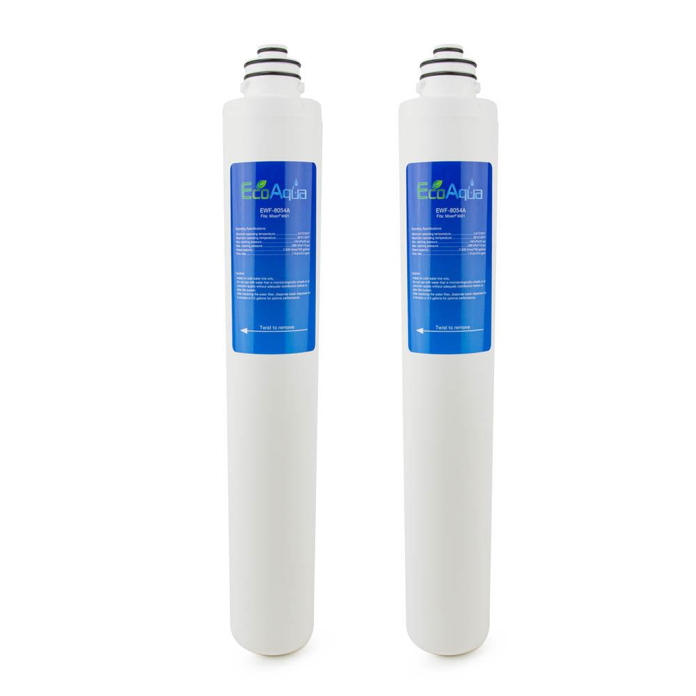 EcoAqua Replacement for Moen® 9001 Under Sink Filter