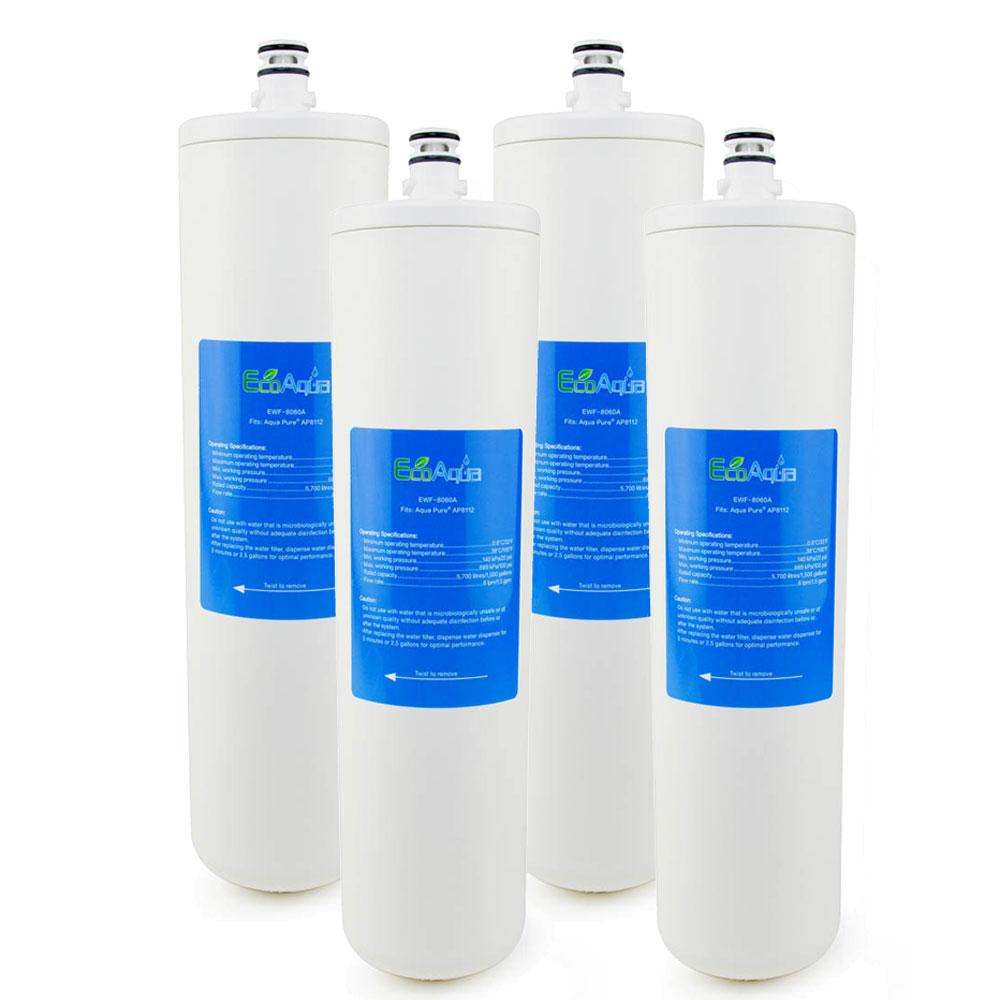 EcoAqua Replacement for Aqua-Pure® AP-DW80/90 Filter, 2-Pack