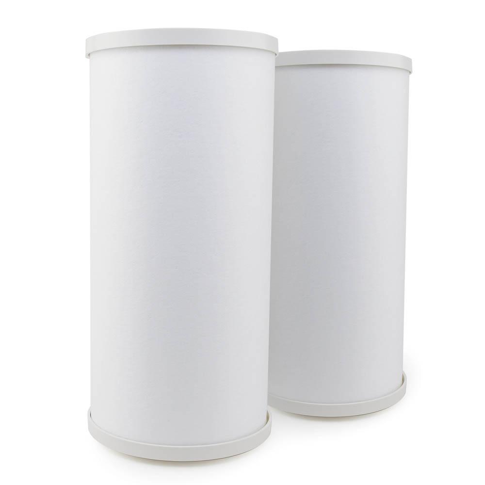 EcoAqua Replacement for Culligan® RFC-BBSA Carbon Filter, 2-Pack
