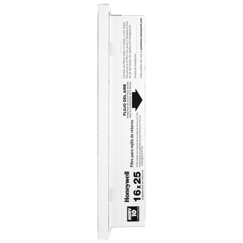 16x25x5 return grille air filters  merv 10