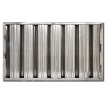 "10"" X 20"" X 2"" Aluminum Grease Baffle Filter"