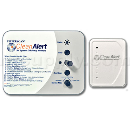 FILTERSCAN� Wireless Air Filter Monitor / Clog Detector