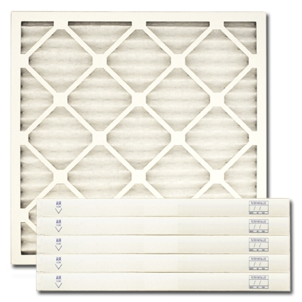 "30"" X 32"" X 1"" MERV 8 Pleated Filter - Actual Size"