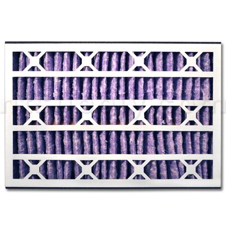 Abatement Technologies H055UVR MERV 13 Filter - 16x25x5