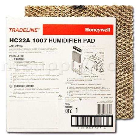 Honeywell HC22A 1007 Humidifier Pad, 2-Pack