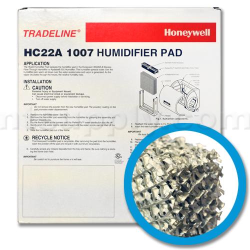 Honeywell HC22A 1007 Humidifier Pad, 2-Pack