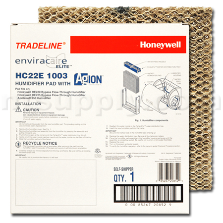 Honeywell HC22E 1003 Humidifier Pad, 2-Pack