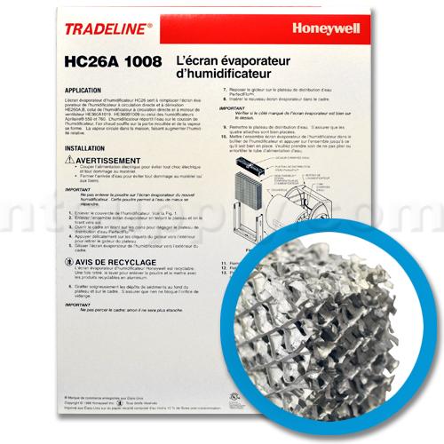 Honeywell HC26A 1008 Humidifier Pad, 2-Pack